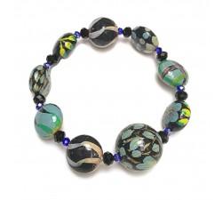 Bracelets Bracelet bleu ciel - Winter Nights Babachic by Moodywood