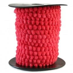 Los minis Gálon de mini pompones - Coral - 10 mm babachic