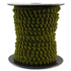 The minis Mini pompom - Khaki - 10 mm babachic