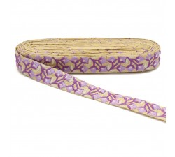Embroidery Embroidery - Spring - Purple - 30 mm