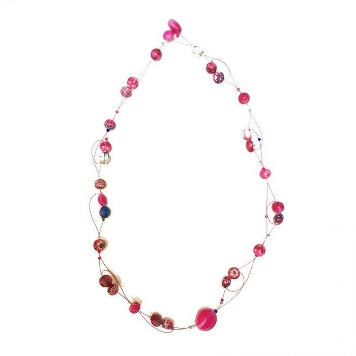 Short Light  necklace - Bubble Gum