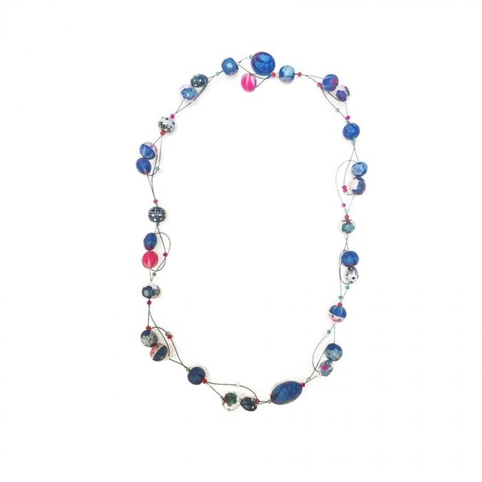 Short Light  collier - Blue Berry