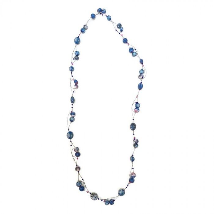 Long Light necklace - Blue Berry