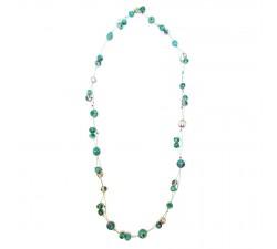 Long Light collar - Esmeralda