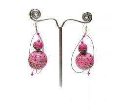 Earrings 1 - Bubble Gum
