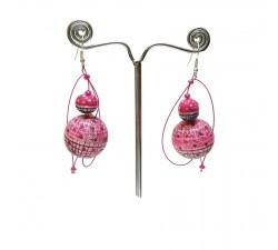 Boucles d'oreilles Boucles d'oreilles 1 - Bubble Gum Babachic by Moodywood