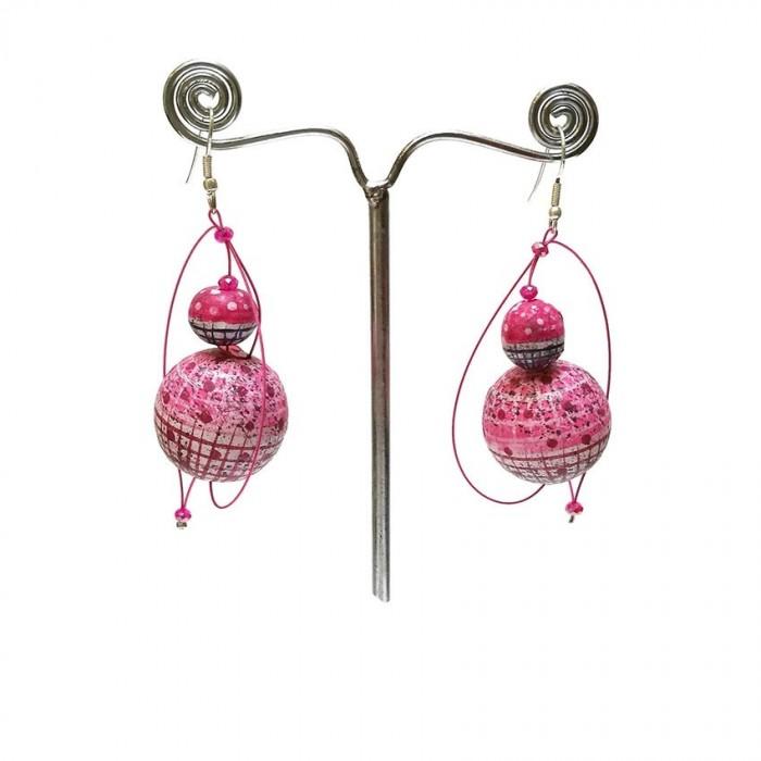 Boucles d'oreilles 1 - Bubble Gum
