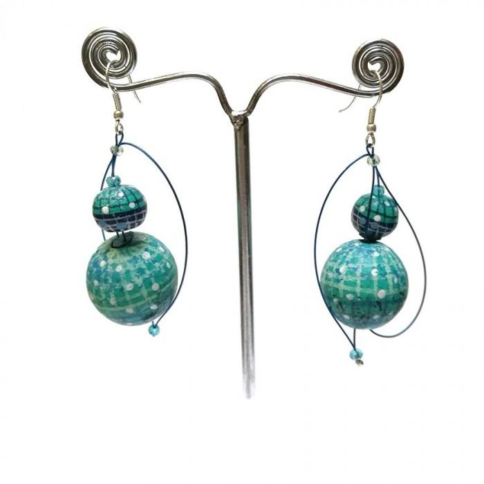Earrings 1 - Emerald
