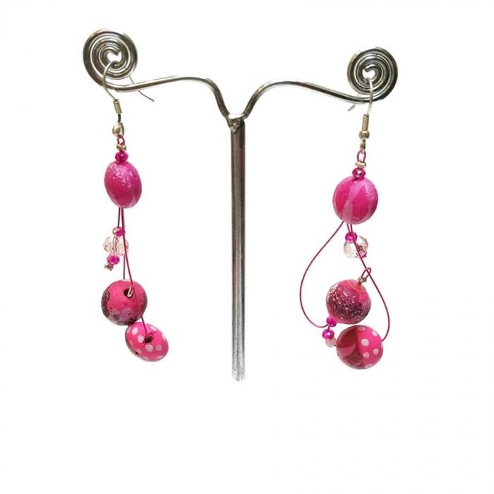 Earrings Sol - Bubble Gum