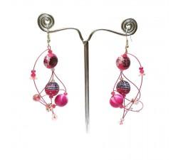 Boucles d'oreilles 4 - Bubble Gum