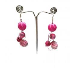 Earrings Earrings Flat - Bubble Gum Babachic by Moodywood