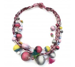 Collar Trenza - Luna - Splash