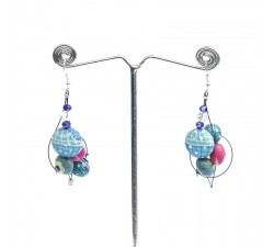 Pendientes Pendientes 2 - Blue Berry Babachic by Moodywood
