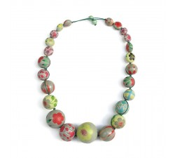 Short Round necklace - Almond