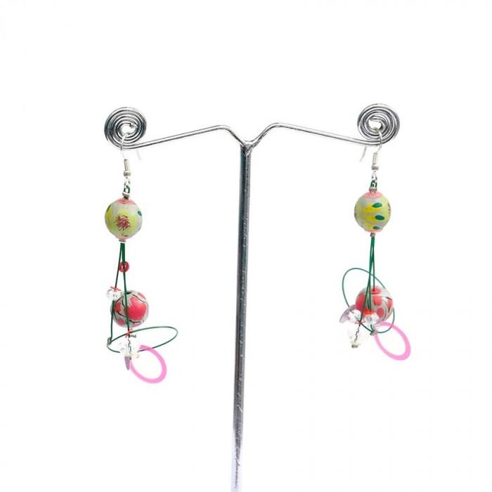 Earrings 6 cm - Almond