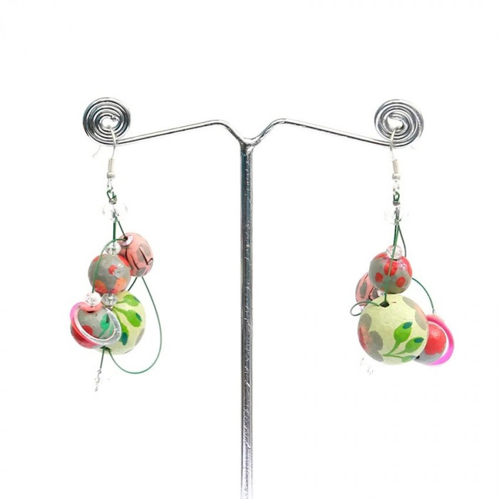 Boucles d'oreilles Drop - Amande