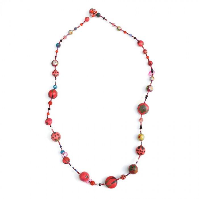 Midlight necklace - Cherry