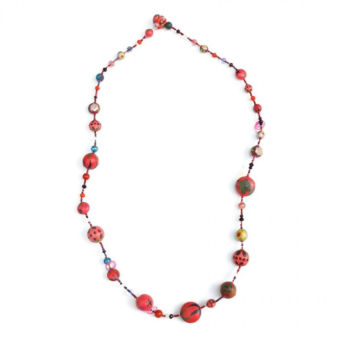 Collier Midlight - Cerise
