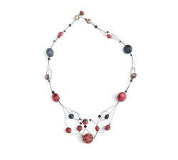 Necklaces Cleavage necklace - Cherry Babachic by Moodywood