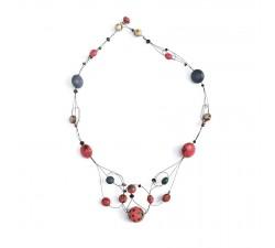 Collares Collar Escote - Cereza Babachic by Moodywood
