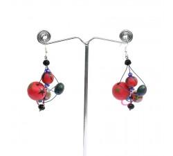 Earrings Earrings Drop - Cherry Babachic by Moodywood