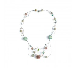 Cleavage necklace - Celeste