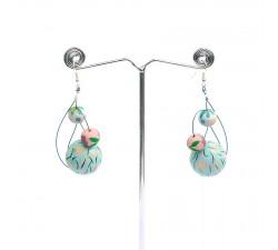 Boucles d'oreilles Boucles d'oreilles 6 cm - Celeste Babachic by Moodywood