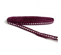 Braid Mirrors braid - Eggplant - 18 mm