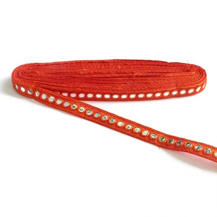 Mirrors braid - Orange - 18 mm