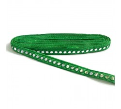 Braid Mirrors braid - Green - 18 mm