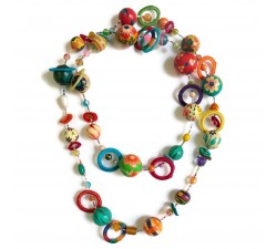 "Kit necklace ""Sautoir"" Kits necklace DIY - Sautoir - Multicolor babachic"