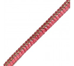 Fringe Tassels ribbon - Coral - 15 mm