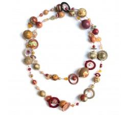 Kits necklace DIY - Sautoir - Autumn