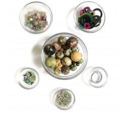 """Kit collier """"Sautoir"""" Kits collier DIY - Sautoir - Vert d'eau babachic"""