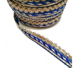 Braid Imperial braid - Blue - 10 mm babachic