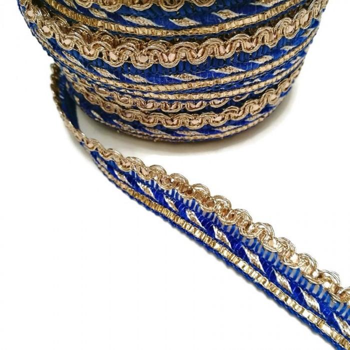 Imperial braid - Blue - 10 mm