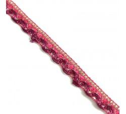 Braid Indian braid - Pink - 10 mm
