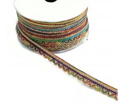 Galónes Galón Indien - Multicolor - 10 mm babachic