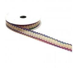 Galónes Cinta Multicolore - 20 mm babachic