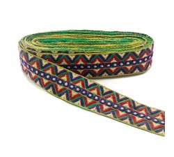 Embroidery Zig-zag embroidery - 55 mm babachic