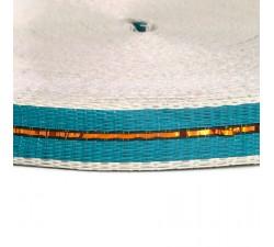 Cinchas  Cincha fina de plástico reciclado bleu - 23 mm  babachic