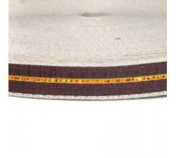 Straps  Sangle fine en plastique recyclé marron - 23 mm  SA23-003
