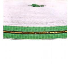 Cinchas  Cincha fina de plástico reciclado verde - 23 mm  babachic