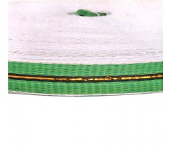 Straps  Thin recycled plastic green strap - 23 mm  SA23-004
