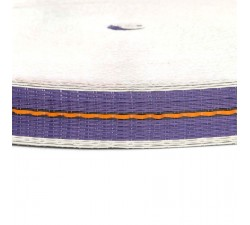 Sangles  Sangle fine en plastique recyclé violet - 23 mm  babachic