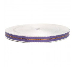 Sangle fine en plastique recyclé violet - 23 mm