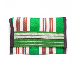 Wallets Recycled green plastic wallet Babachic by Moodywood