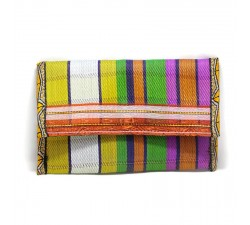 Wallets Recycled multicolor plastic wallet Babachic by Moodywood