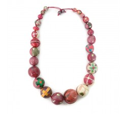 """Short round"" necklace kit Autumn Short round necklace kit Babachic by Moodywood"