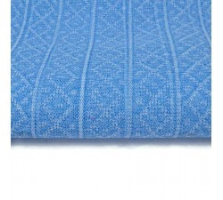 Recycled plastic tulle Sky blue recycled plastic tulle babachic